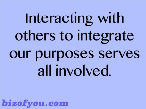 Interact to integrate