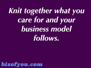 Knit together