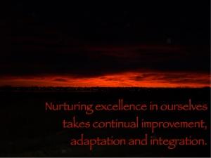 nurturing excellence