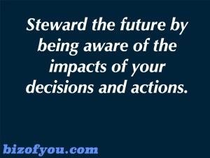 Steward the future