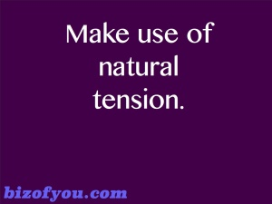 use tension