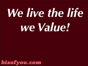 We live value