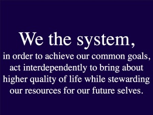 We the System