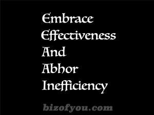 effective n efficiency