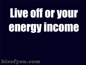 energy income