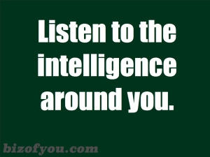 intelligences around you