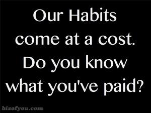 habits cost