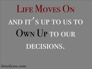 Move on Own up