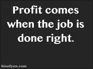 profit emerges