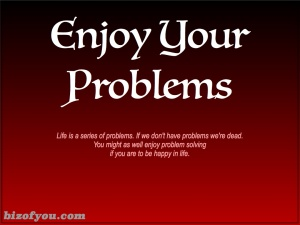 Overcome your addiction to the positive in life and start dealing with your problems.